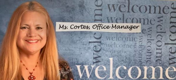 Ms. Cortez, Office Manager